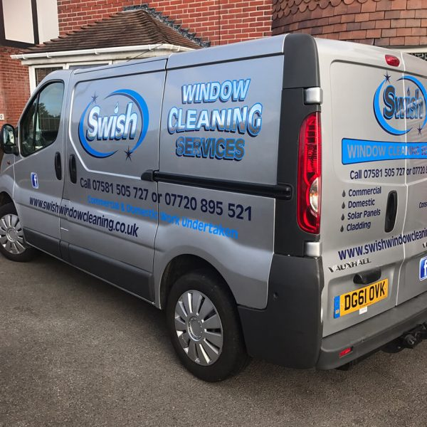 Swish Window Cleaning Van