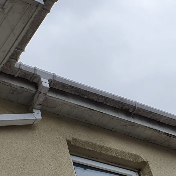 before gutter & fascia board cleaning Bournemouth