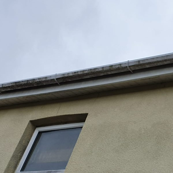 gutter cleaning Bournemouth - before image